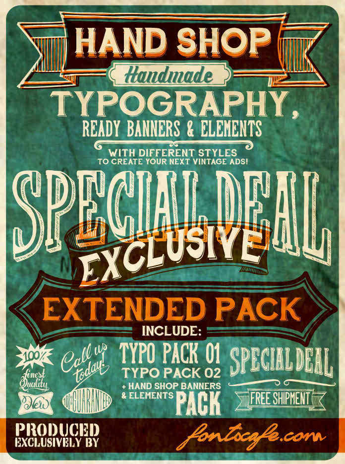 Hand Shop Typography C30