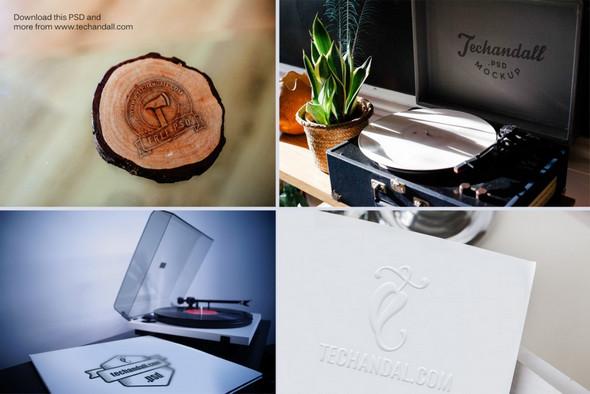 branding mockup psd for logos