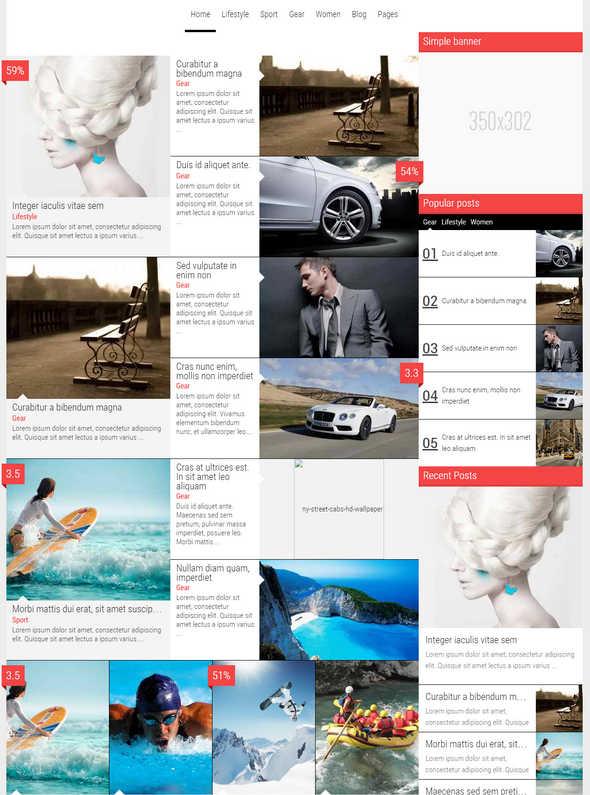 Magazine - News Blog Review Theme