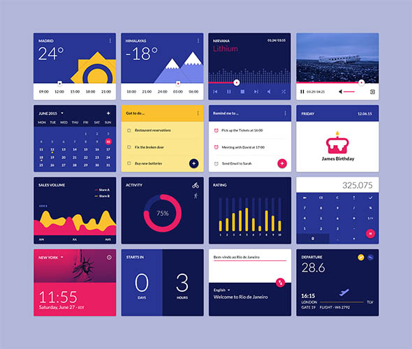 Material_Design_widgets_UI_kit