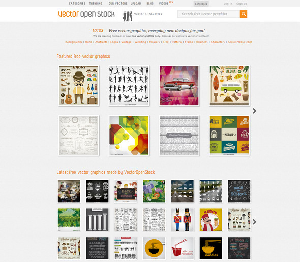 vector stock website free