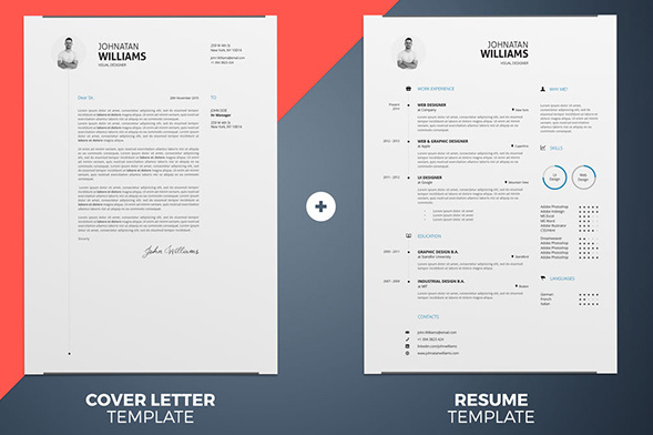 30+ Best Free Resume Templates in PSD, AI, Word DocX