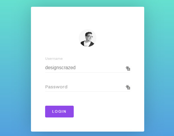 35 Free CSS3 HTML5 Login Form Templates