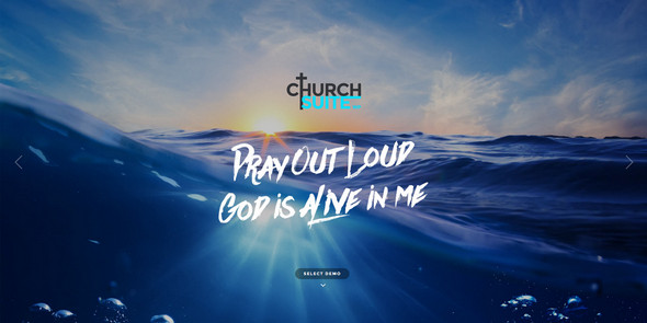 chruch suite wordpress theme preview