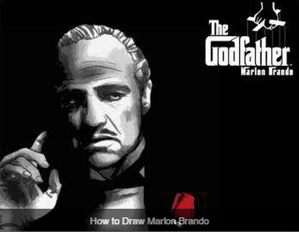 how-to-draw-marlon-brando
