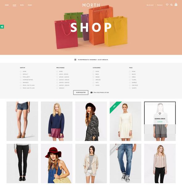 north - shop for ecommerce websites