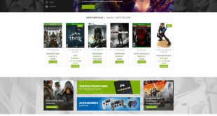 polygon wordpress - digital shop theme for gamers