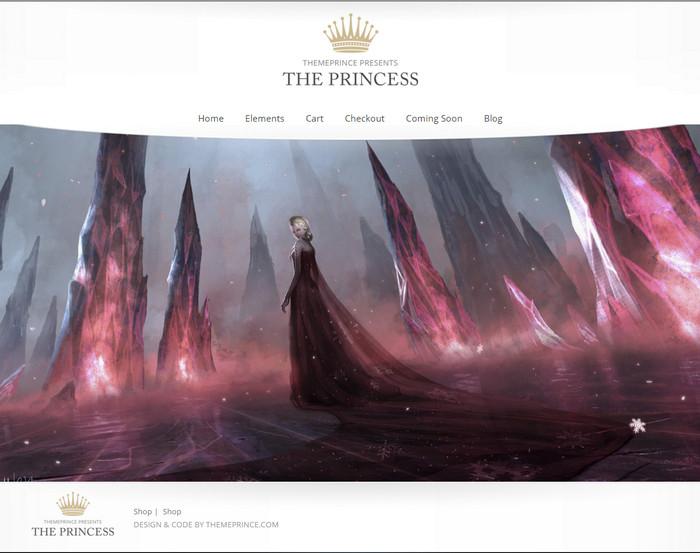 Princess – Lite wordpress theme