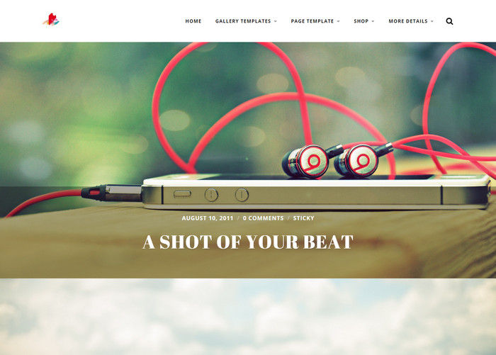 radcliffe - free photography theme
