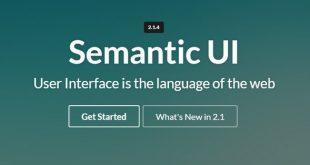Semantic UI - A css3 framework