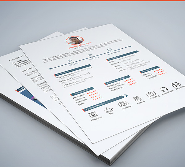 free Resume and cover Template