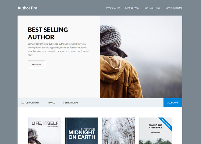authorpro - book review affiliate theme