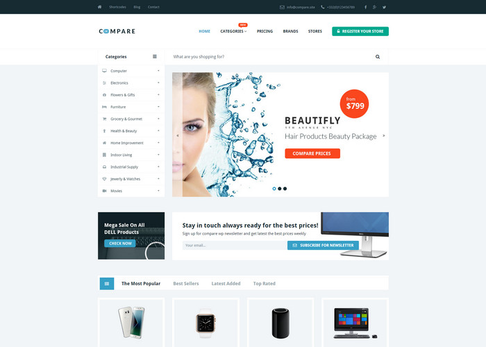 compare price online with affiliate wordpress theme