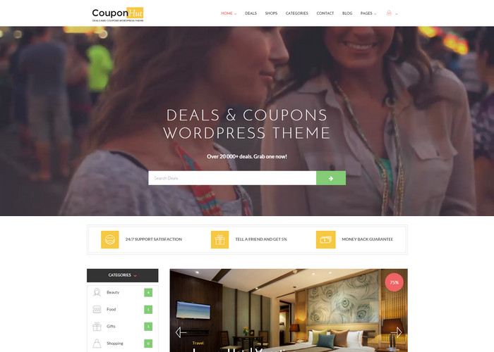Coupons & Deals WordPress Theme