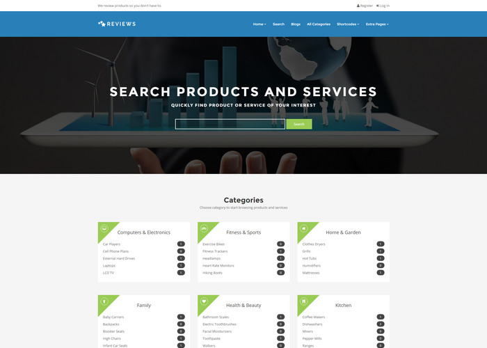reviews - fully customizable wordpress review theme