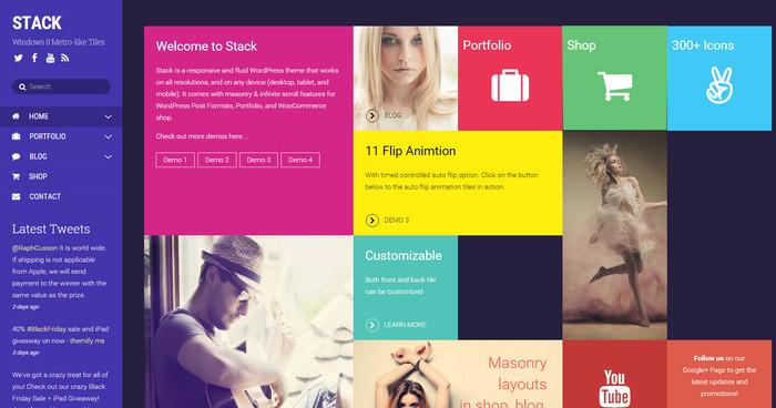 Metro WordPress Themes