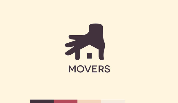 Home Movers Logo Design