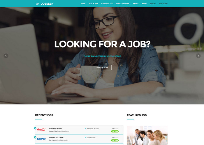 Jobseek - Job Board WordPress Themes