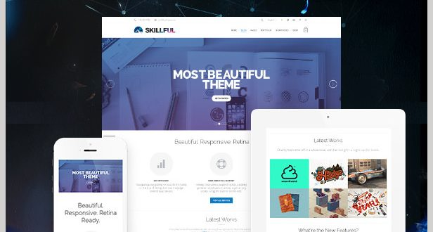 Skillful - best WordPress Business Themes