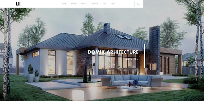 Creative Responsive Architecture WP Theme
