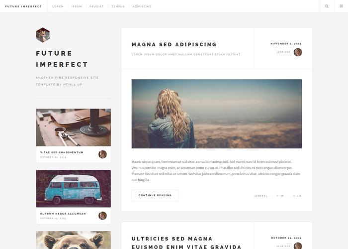 future blog html