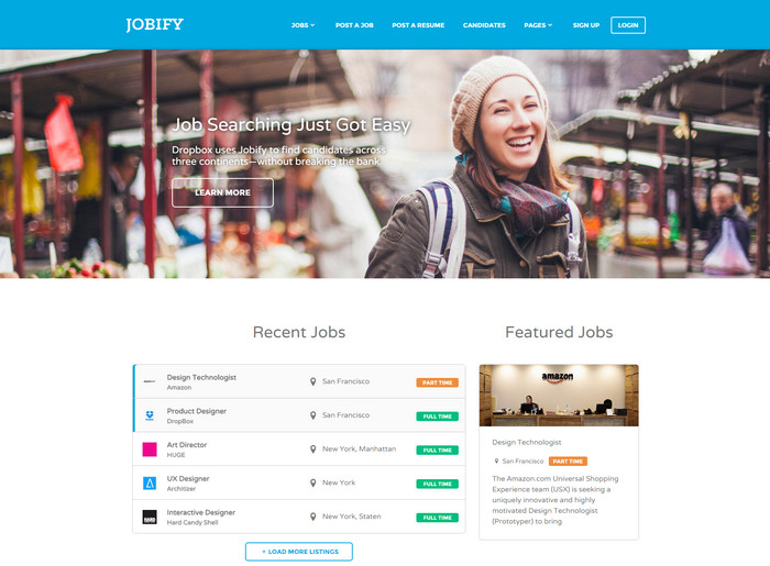 WordPress Job Board Theme - Jobify