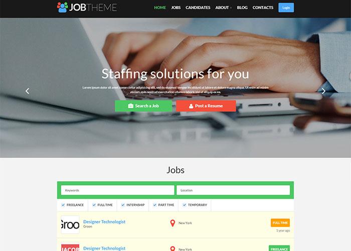 jobs theme for wordpress