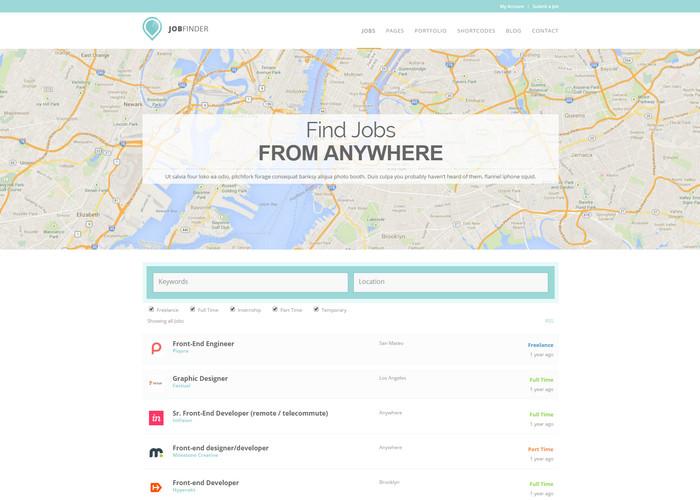 JobFinder - WordPress Job Listings