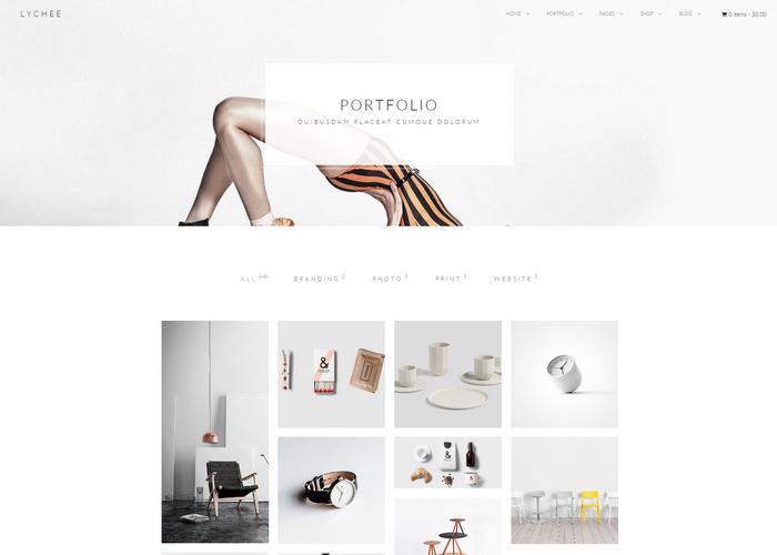 lychee - portfolio html5 template