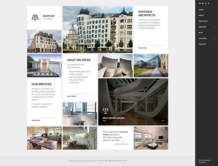 Architect Responsive WordPress Theme