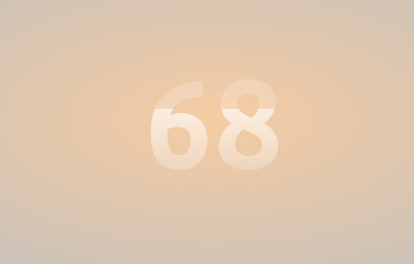 number progress bar in jquery css3