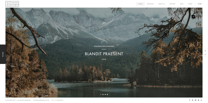 Responsive Photography HTML5 Template