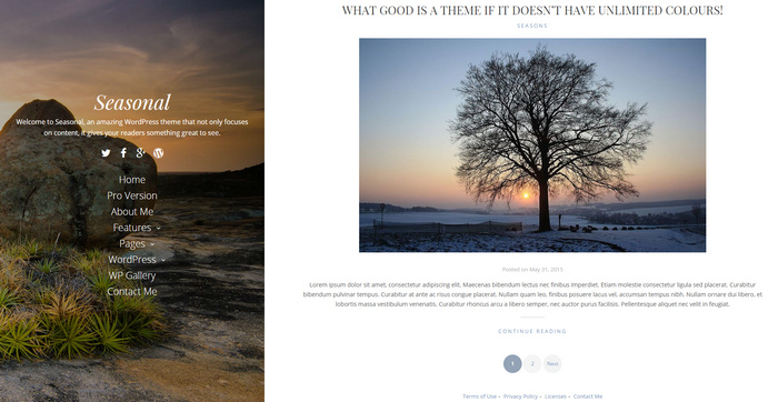 amazing free travel WordPress theme
