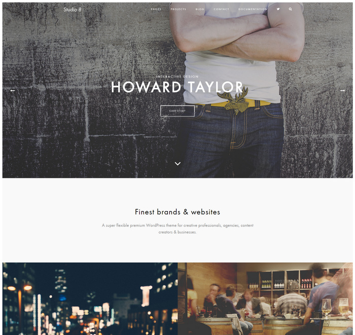 Studio 8 - A Flexible HTML Portfolio