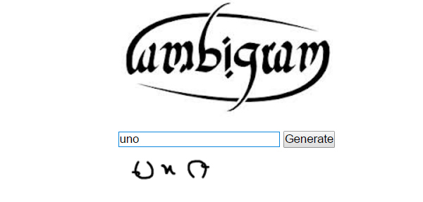 Free Ambigram Generators And 20 Examples