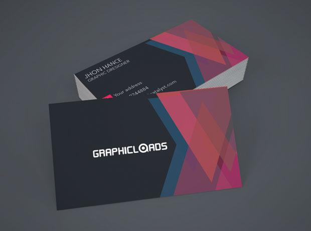 Free PSD: Business card templates