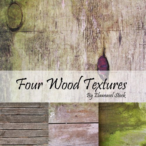 4 Wood Texture Pack