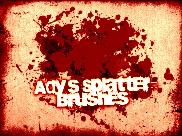 Adys Splatter Brushes