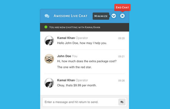 Awesome Live Chat for wordpress