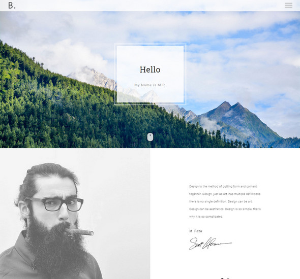 Bodo - Free Responsive HTML Personal Template