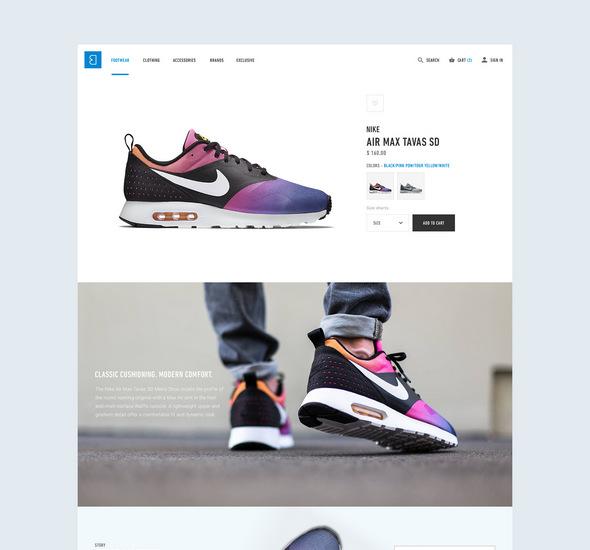 Bree e-commerce - Free PSD