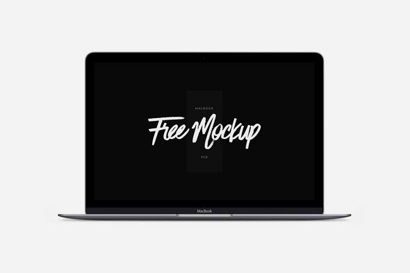 Free Macook Mockup