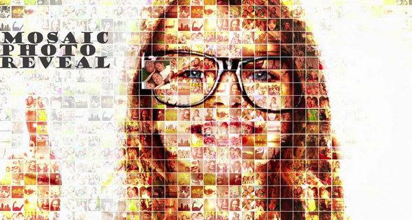 Mosaic Photo Revealz