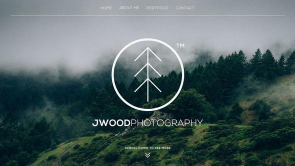 Photography - PSD Website Template