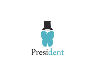 President - creative logo designs