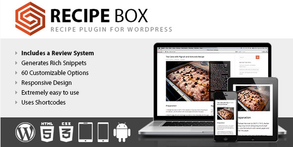 Recipe Box with Review System