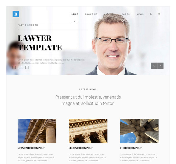 Rely - Lawyers WordPress Theme