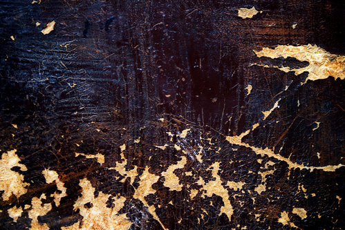 Scratches on Painted Wood