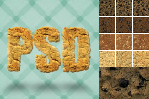 Seamless Cookie Textures
