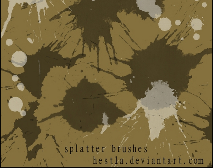 Splatter Brush Pack